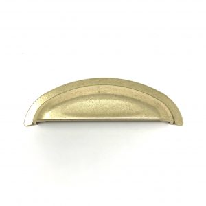 HA9127 96mm Antique Brass Cup Handle