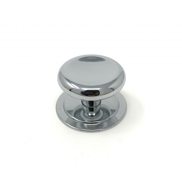 HA9131 38mm Polished Chrome Knob with 46mm Backplate