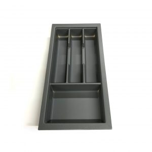 KA8016 300mm Charcoal Cutlery Tray for Grass Scala Drawer