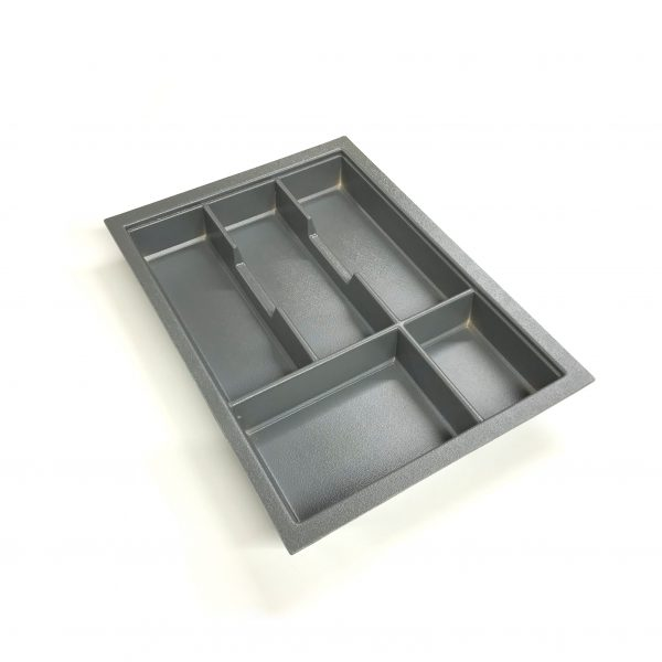 KA8017 400mm Charcoal Cutlery Tray for Grass Scala Drawer