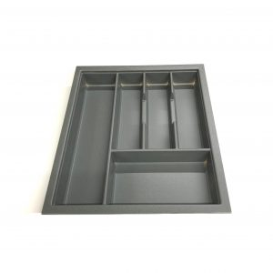KA8018 450mm Charcoal Cutlery Tray for Grass Scala Drawer
