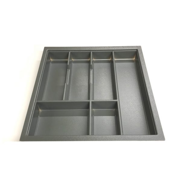 KA8019 500mm Charcoal Cutlery Tray for Grass Scala Drawer