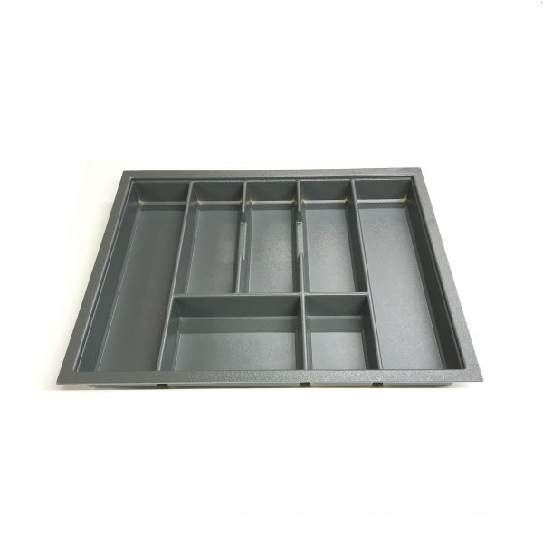 KA8020 600mm Charcoal Cutlery Tray for Grass Scala Drawer