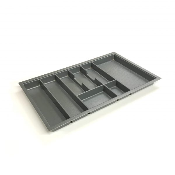 KA8021 800mm Charcoal Cutlery Tray for Grass Scala Drawer