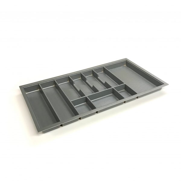 KA8022 900mm Charcoal Cutlery Tray for Grass Scala Drawer
