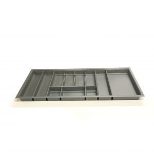 KA8023 1000mm Charcoal Cutlery Tray for Grass Scala Drawer