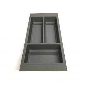 KA8000 300mm Basalt Grey Cutlery Tray for Scala Drawer