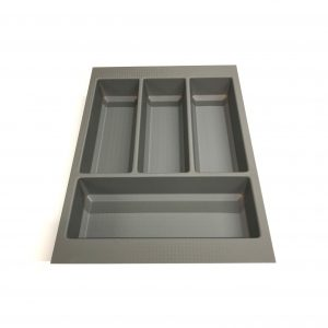 KA8001 400mm Basalt Grey Cutlery Tray for Scala Drawer