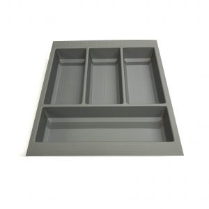 KA8002 450mm Basalt Grey Cutlery Tray for Grass Scala Drawer