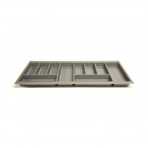 KA8007 1000mm Basalt Grey Cutlery Tray for Grass Scala Drawer